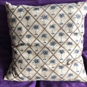 Tommy Bahama Palm Tree throw pillow